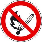 Offenes Feuer verboten